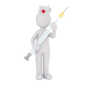 sestra s injekcí